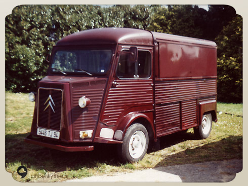 citroen hy bordeaux